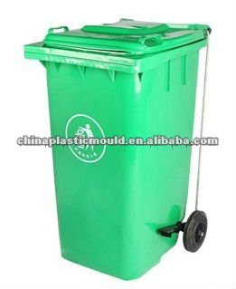 plastic trash can 240L