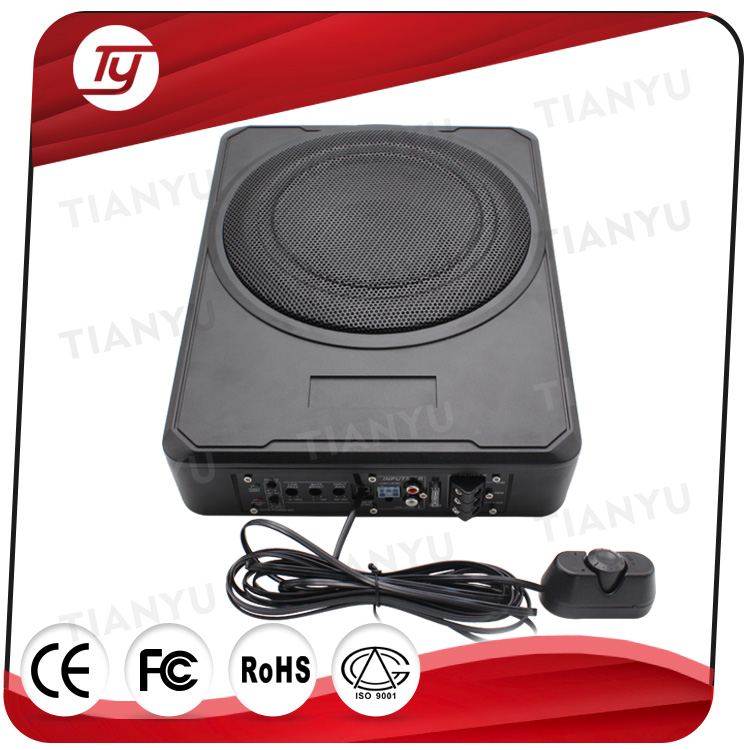 car audio 10inch bass tube subwoofer 12v with amplifier