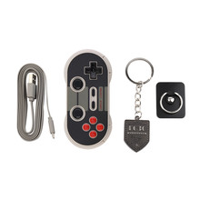 Portable Wireless Bluetooth Classic 8Bitdo NES30 Pro Game Controller Full Buttons for iOS Android Gamepad PC Mac Linux