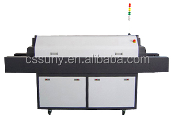 Lead-free hot air reflow oven, smt reflow oven, automatic reflow machine