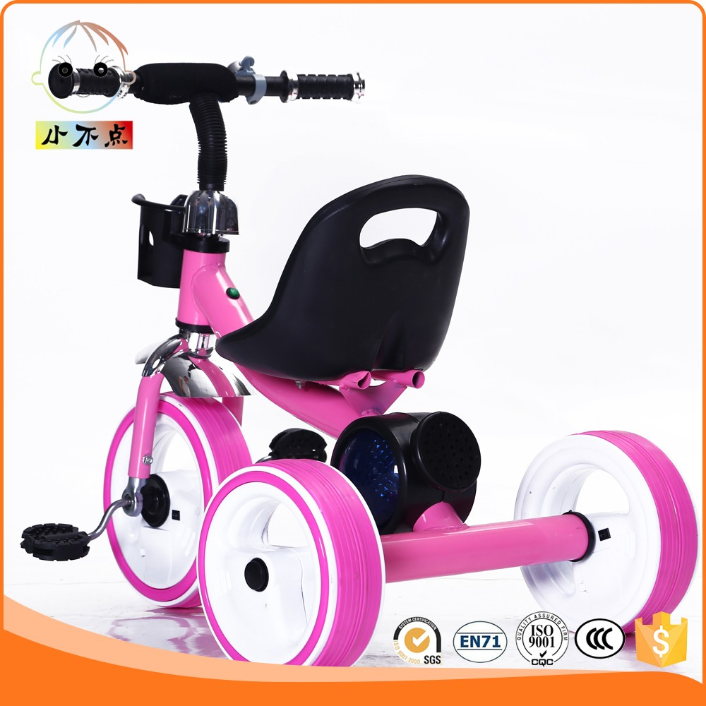 CE Standard lovely baby electric tricycle with light New cheap children electric car with music 2016