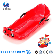 SGS CE approved adult winter sport plastic toboggan sledge
