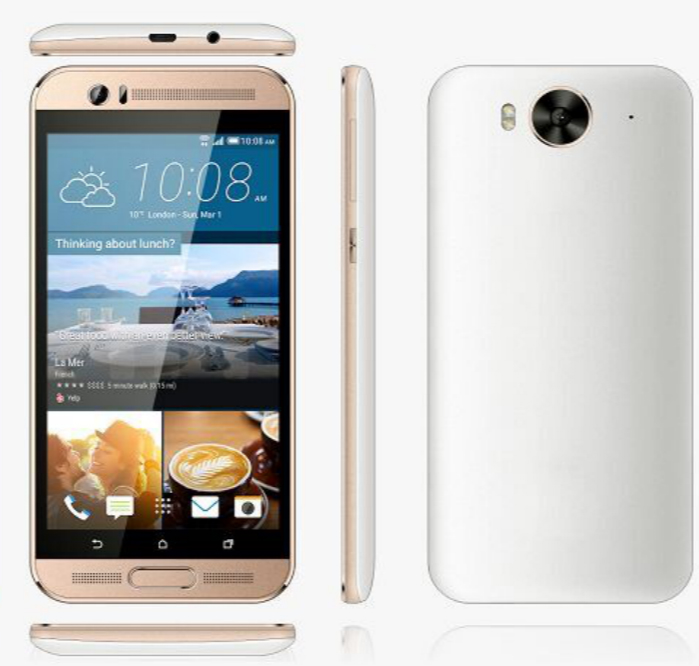 Wholesale 5 inch Android 4.4.2 854*480 3G Lte Cellphone MTK6572 512MB+4GB Double Camera 3g Android Yxtel Smart Mobile Phone