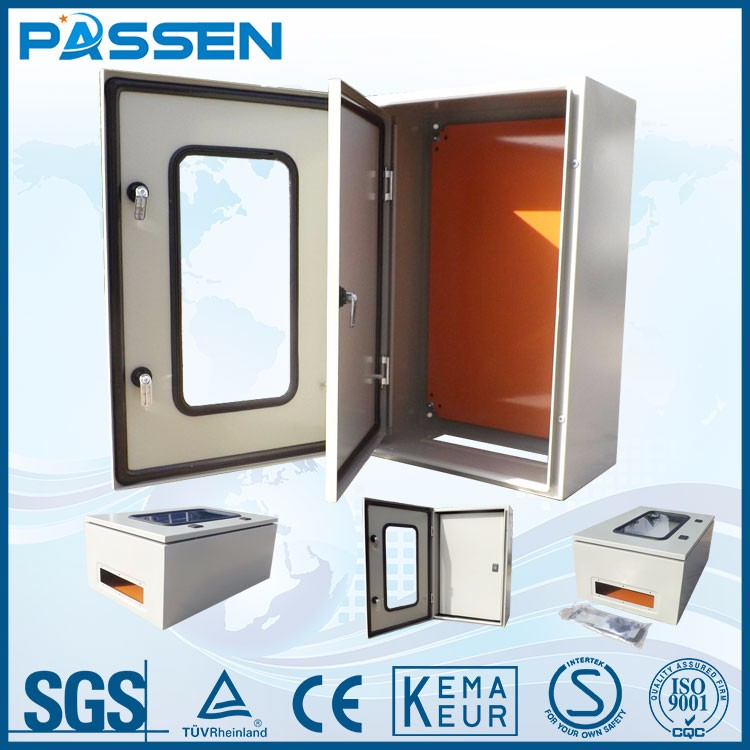 PASSEN Factroy price and good quality wall mount enclosure, metal enclosure box, Distribution box ip66