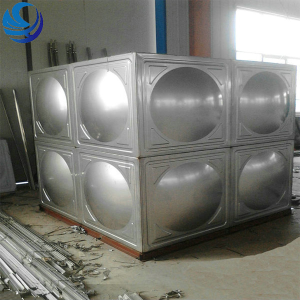 300 gallon stainless steel water storage tank
