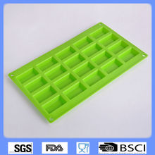 20 units Silicone cake mould,unique chocolate molds cube shape