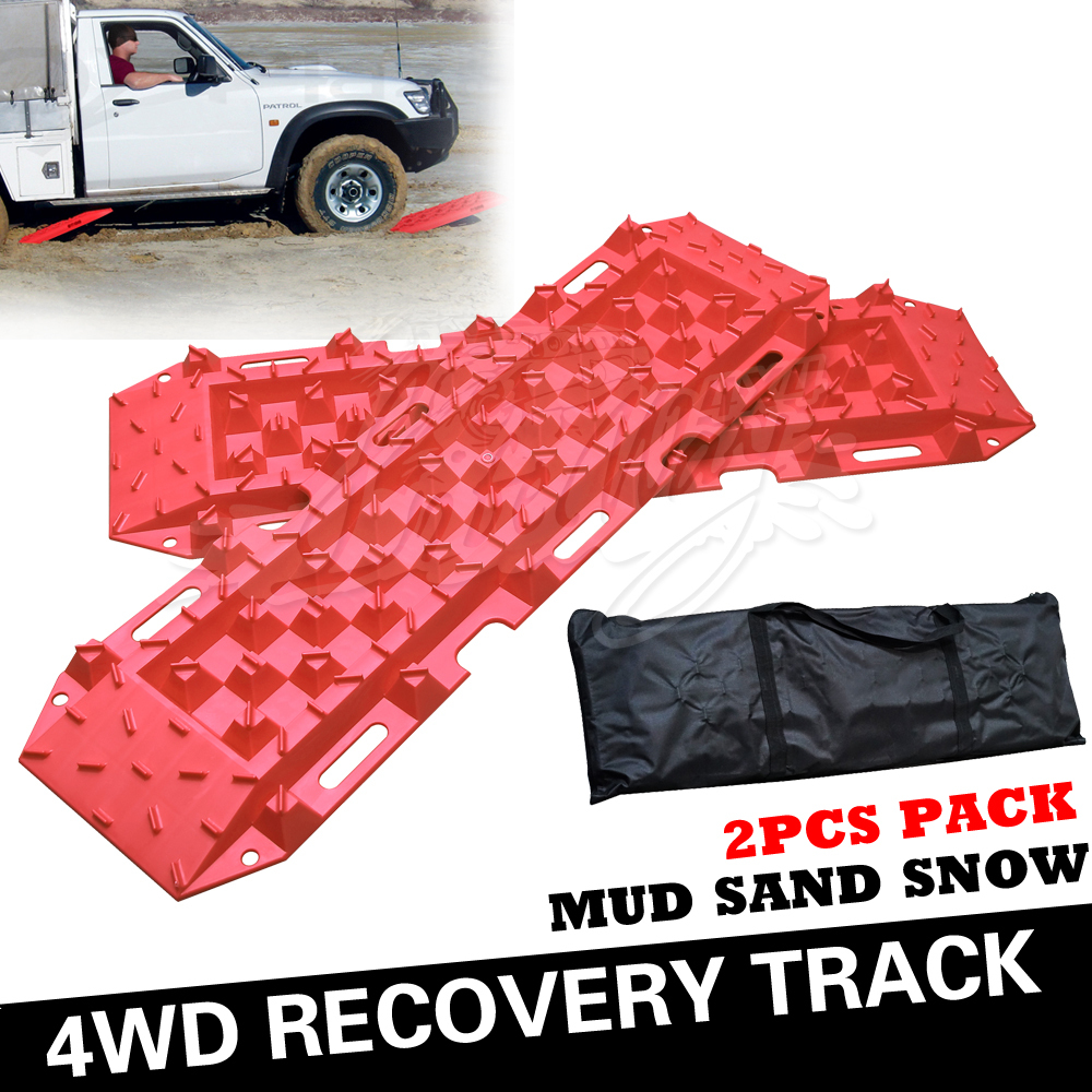 4WD Sand track Recovery Track Snow Track 4X4 PARTS sand ladder ORANGE