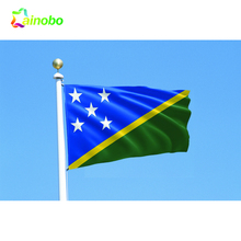 New custom made outdoor indoor polyester solomon-islands national flag