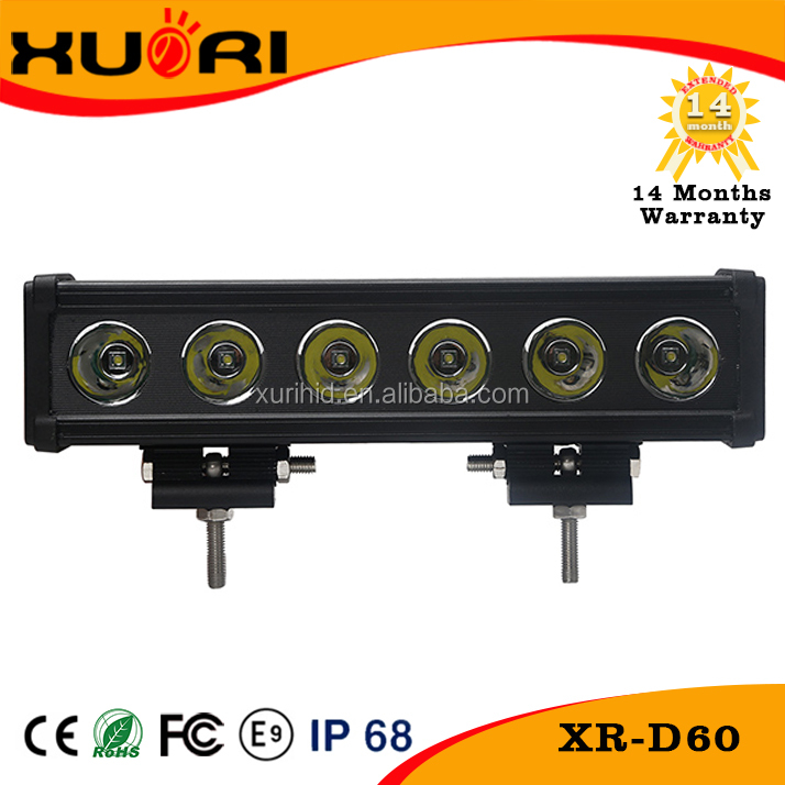 New products car lights super bright 60w offroad led light bar car accesories for all cars