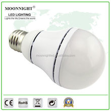 China supplier manufacture Quality 9W sound sensor time delay led bulb light