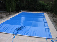 wholesales 6m x 14 m aluminum support High quality cover for swimming pool