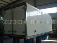 TATA refrigerated truck body