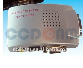 CCTV BNC to VGA Converter for CCTV camera system VGA signal conversion AV or S-VIDEO signal verter from RS-232 to RS-485