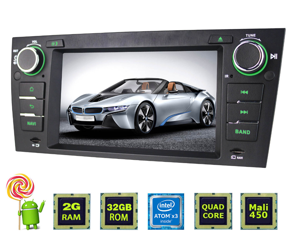Joying 7 inch Android 6.0 4 Quad car DVD player with 32G ROM/FM/WIFI/GPS/Bluetooth for E90