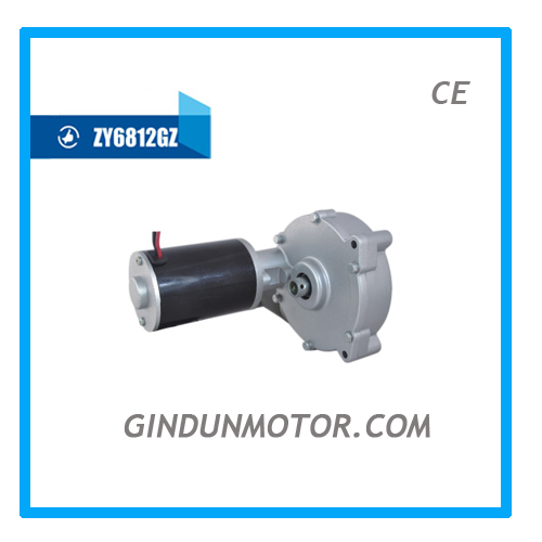 Hot Selling 24v Dc Worm Gear Motor For Golf Trolley Model Zy6812gz Buy 24v Dc Worm Gear Motor