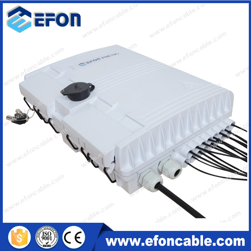 FDB 4Port FTTH Outdoor Optical Fiber Cable Telephone Distribution Box
