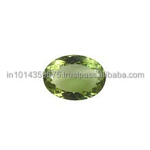 Natural Green Amethyst Cut Loose Stones