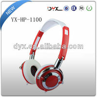 High quality big military headset for mp3 and pc