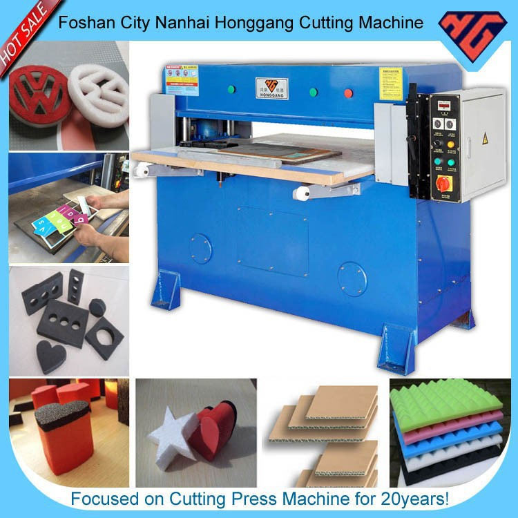 leather die cut machine