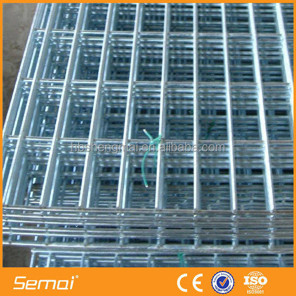 building materials galvanized welded wire mesh fence panels in 6 gauge
