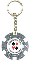 Personalized Poker Chip Key Rings / Key Chains