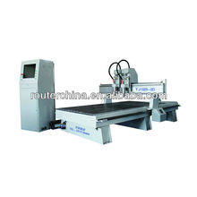CNC router machine with two spindle for wood working TJ1513