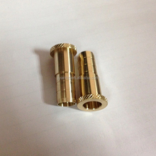 High Precision Turned Machining brass smoking pipe parts