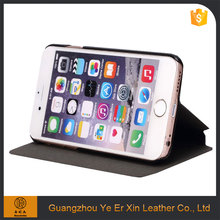 Best selling free sample PU leather phone case for iphone 6 6s 7 plus