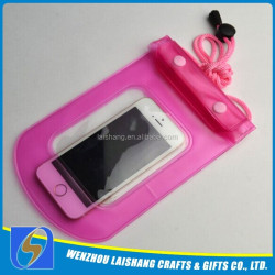 100% Highly Sealed PVC Waterproof Bag For Phone