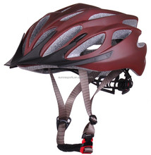 Beautiful color adult road bicycle helmets with sun visor