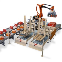 Automatic Carton industrial robot stacking machine for robotic application of packing bags and cartons boxes