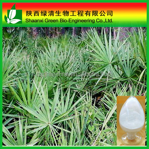 Saw Palmetto P.e. Fatty Acid /cas No:61788-66-7/ Saw Palmetto Eg 25% Solid [specification]: 25%total Fatty Acid/Saw Palmetto