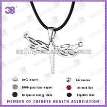 fashion jewelrys energy pendent made of stainless steel