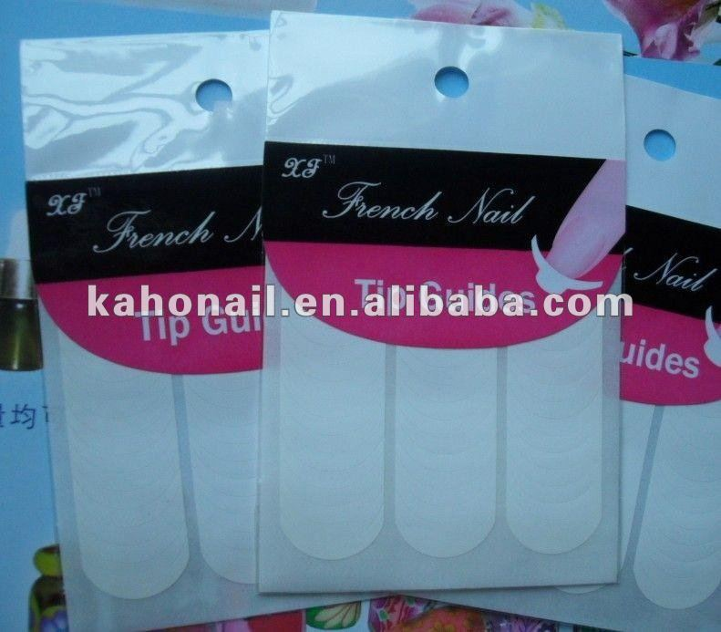 suppliers to provide all kinds nail art,cosmetics french manicure tip guide fake nail