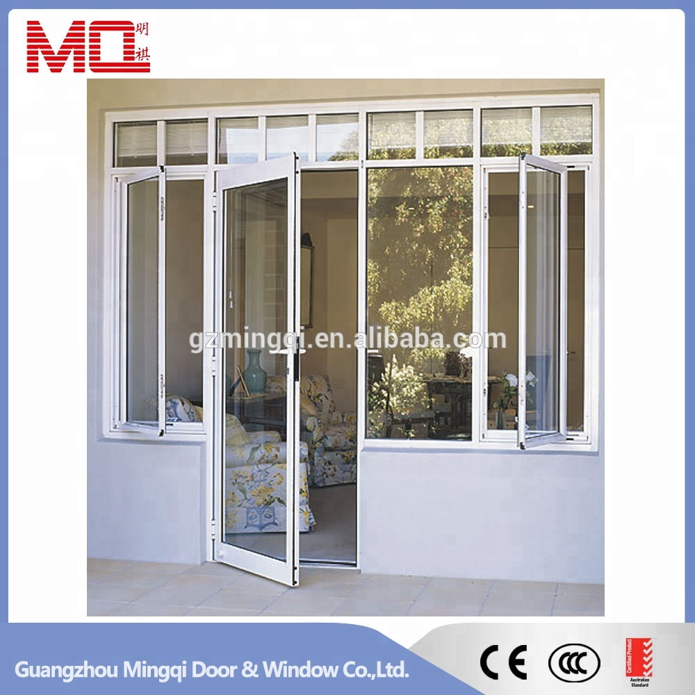 Aluminium Glass Doors With Windows That Open 24 Inches Interior
