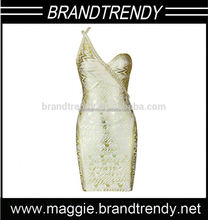 Fashion Design Bodycon gold evening dress malaysia online shopping