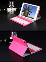 folding stand shockproof bluetooth keyboard PU leather case for Ipad 3