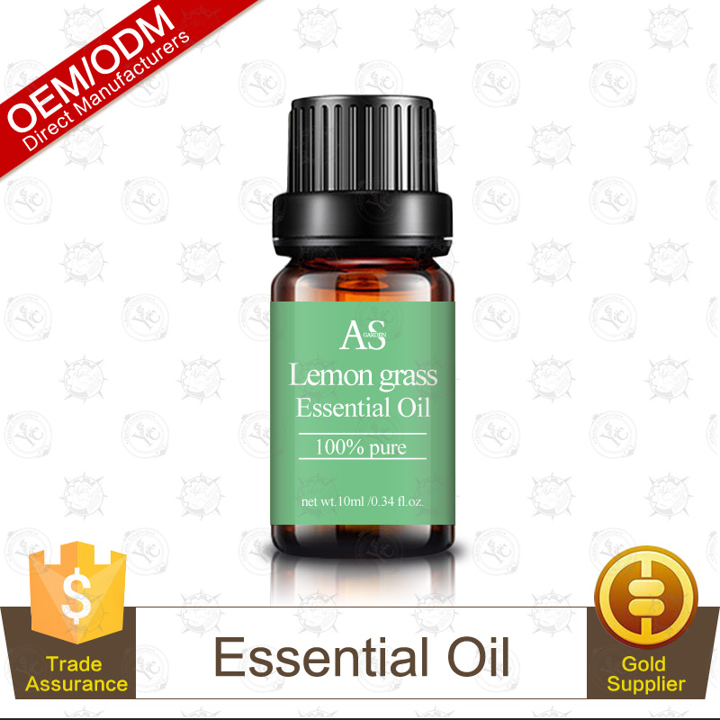 Private Label Premium Quality Therapeutic Grade Lemongrass Essential Oil 10ml Perfect Aromatherapy Factory Supply