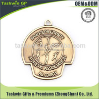 Professional high quality cheap customized antique color 3D metal medal