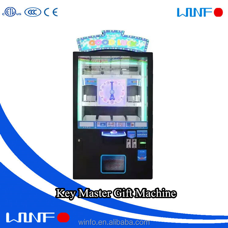 New design for story gift prize crane vending arcade game