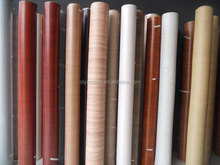 macassar ebony furniture film;pvc protective film;pvc foil for membrane vacuum-press;pvc film lamination metal sheet