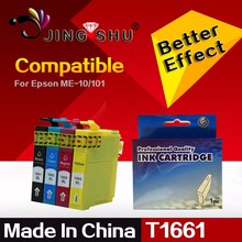 Compatible ink cartridge T1661 T1662 T1663 T1664 For EPSON ME-10 / ME-101