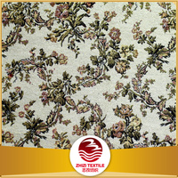 China 30 cotton 70 polyester gobelin weave jacquard toile fabric