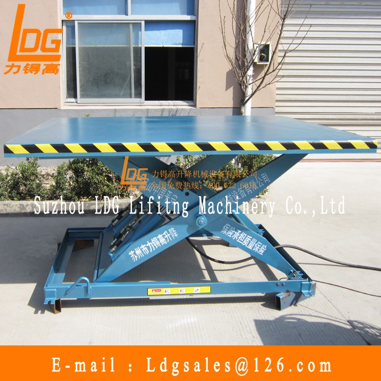Stationary hydraulic lift for car wash with SJG2.65-1