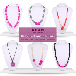 Cheap Bulk Jewelry/ China Kean Supplier Simple Cheap Bulk Jewelry Necklace for Baby Teething