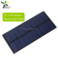 mini small epoxy solar panel for LED light toys and mobile chargers