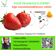 High concentration strawberry oral care fragrance,food grade toothpaste fragrance oil