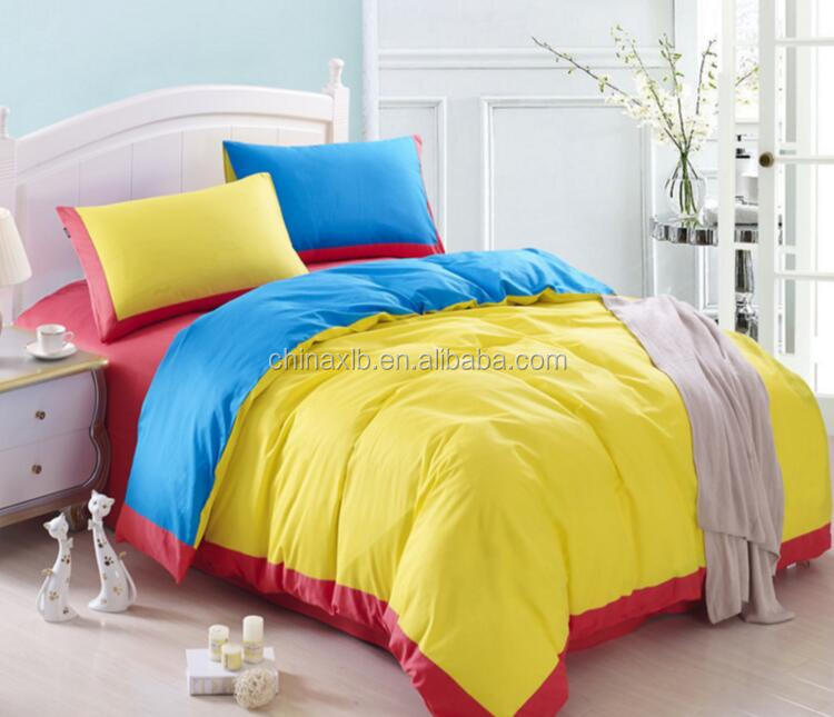Contact Supplier Chat Now! New design pretty custom printed bedding plain dyed coming home bedding