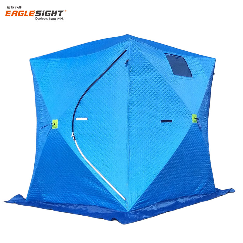 Pop Up Ice Cube Fishing Shelter Winter Fishing <strong>Tent</strong>