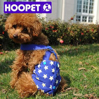 Hoopet Flexible pet sanitary sport apparel clothes for puppies